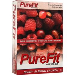 PUREFIT PureFit Nutrition Bar Berry Almond Crunch 15 bars