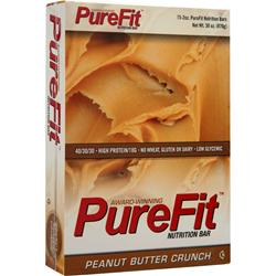 PUREFIT PureFit Nutrition Bar Peanut Butter Crunch 15 bars