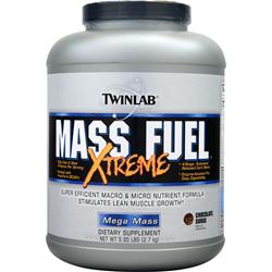 TWINLAB Mass Fuel Xtreme Chocolate Surge 5.95 lbs