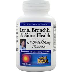 NATURAL FACTORS Lung, Bronchial & Sinus Health 90 tabs