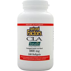Natural Factors CLA Tonalin (1000mg) 180 sgels