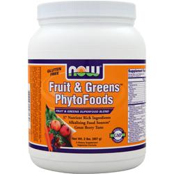 NOW Fruit & Greens Phytofoods 2 lbs