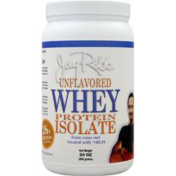 Jay Robb Whey Protein Isolate Unflavored 24 oz