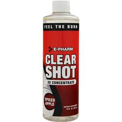 E-Pharm Clear Shot 3x Concentrate Spiced Apple 16 fl.oz