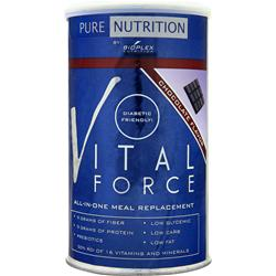 BIOPLEX NUTRITION Pure Nutrition - Vital Force Meal Replacement Chocolate Flavor 1 lbs