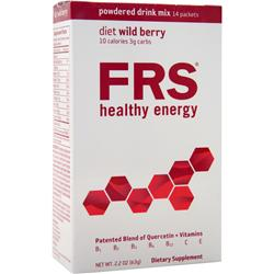 FRS Powdered Drink Mix Diet Wild Berry 14 pckts
