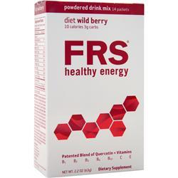 FRS Powdered Drink Mix Diet Wild Berry 14 pckts