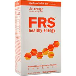 FRS Powdered Drink Mix Diet Orange 14 pckts