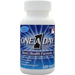 BAYER HEALTHCARE ONE A DAY Men's Health Formula 200 tabs