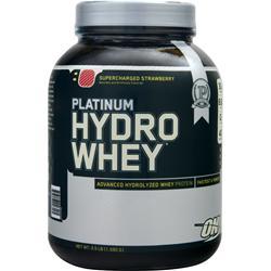 OPTIMUM NUTRITION Platinum HydroWhey Supercharged Strawberry 3.5 lbs