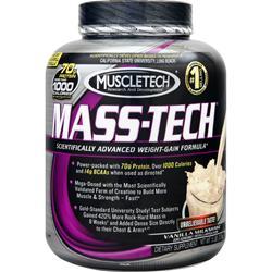 Muscletech Mass-Tech Vanilla Milkshake 5 lbs