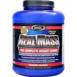 GASPARI NUTRITION Real Mass Strawberry Milkshake 5.95 lbs