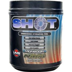 John Scott's Nitro Shot - Energizing Hydration Fuel Monsoon 12 bttls