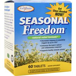 ENZYMATIC THERAPY Seasonal Freedom 60 tabs