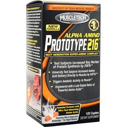 Muscletech Alpha Amino Prototype 216 120 cplts