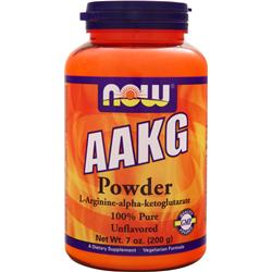 NOW AAKG Powder Unflavored 7 oz