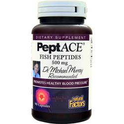 NATURAL FACTORS PeptACE Fish Peptides (500mg) 90 caps