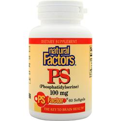 Natural Factors PS (100mg) 60 sgels