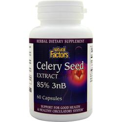 NATURAL FACTORS Celery Seed Extract 60 caps