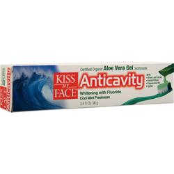 Kiss My Face Anticavity - Certified Organic Aloe Vera Gel Toothpaste 1 unit