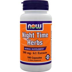 Now Now Nighttime Herbs (500mg) 100 caps