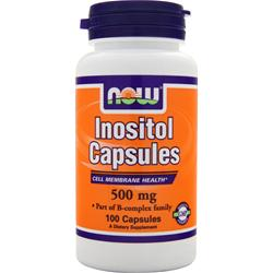 NOW Inositol Capsules (500mg) 100 caps