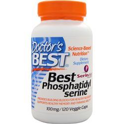 DOCTOR'S BEST Best Phosphatidyl Serine (100mg) 120 vcaps