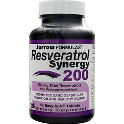 JARROW Resveratrol Synergy 200 Easy-Solv 60 tabs