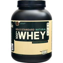 OPTIMUM NUTRITION 100% Whey Protein - Gold Standard (Natural) Chocolate 5 lbs