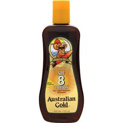 AUSTRALIAN GOLD SPF 8  Very Water Resistant Suncreen 8 fl.oz