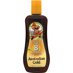 Australian Gold SPF 8  Very Water Resistant Suncreen 8 fl.oz