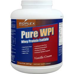 Bioplex Nutrition Pure WPI - Whey Protein Isolate Vanilla Creme 5 lbs