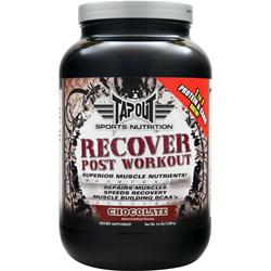 Tapout Recover Post Workout Chocolate 3.6 lbs