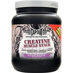 Tapout Creatine Muscle Stack Grapplin' Grape 1.8 lbs