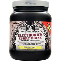 TAPOUT Electrokick Sports Drink Lethal Lemon 1.5 lbs