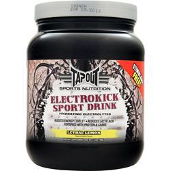 Tapout Electrokick Sports Drink Lethal Lemon 1.5 lbs