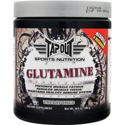 Tapout Glutamine Unflavored 10.6 oz