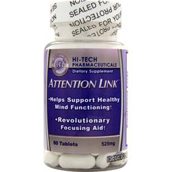 HI-TECH PHARMACEUTICALS Attention Link 60 tabs