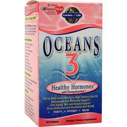 GARDEN OF LIFE Oceans 3 Healthy Hormones 90 sgels