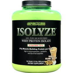 SPECIES Isolyze Vanilla Peanut Butter 4.1 lbs