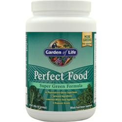 GARDEN OF LIFE Perfect Food Powder - Super Green Formula 600 grams