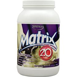 SYNTRAX Matrix 2.0 - Sustained Release Protein Cookies and Cream 2.16 lbs