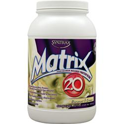 Syntrax Matrix 2.0 - Sustained Release Protein Bananas and Cream 2.04 lbs