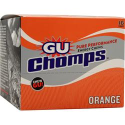 Gu Chomps Orange 16 pckts