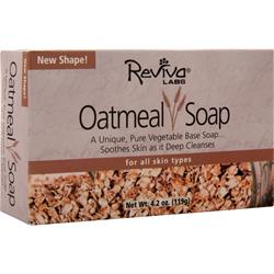 REVIVA LABS All Natural Soap Oatmeal 4.2 oz