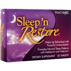 Natrol Sleep 'n Restore 20 tabs