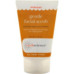 EARTH SCIENCE Apricot Gentle Facial Scrub 4 fl.oz