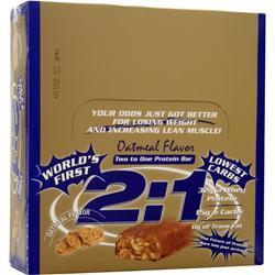 METRAGENIX 2:1 Protein Bar Oatmeal 12 bars