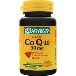 Good 'N Natural Co Q-10 (30mg) 50 sgels