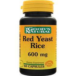 Good 'N Natural Red Yeast Rice (600mg) 60 caps